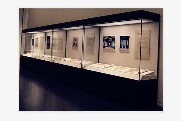 锦州品牌博物馆展柜制造厂图片