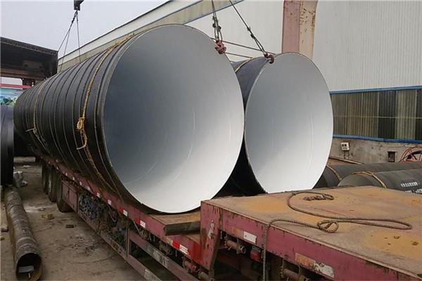 武威市环氧煤沥青防腐螺旋钢管多少钱一米