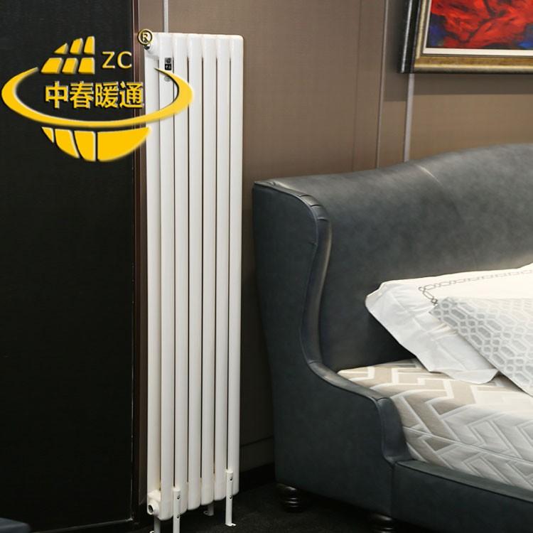 通道SCGGZY4-1.4/800-1.0钢制圆柱散热器工业园区
