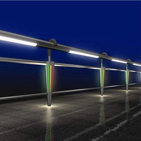 常熟大橋不銹鋼復合管欄桿專業定做